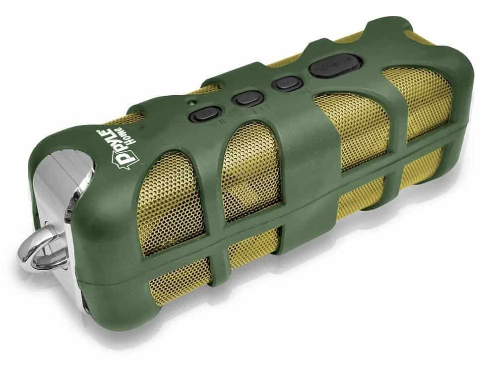 Pyle PWPBT60OR Sound Box Splash Green