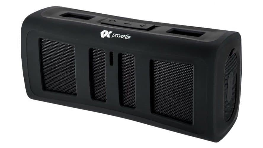 Proxelle Surge Blast Portable Rugged Waterproof Wireless Bluetooth Stereo Speaker