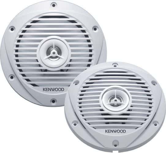 Kenwood KFC-1652MRW 6.5-Inch Two-Way Marine Speaker System