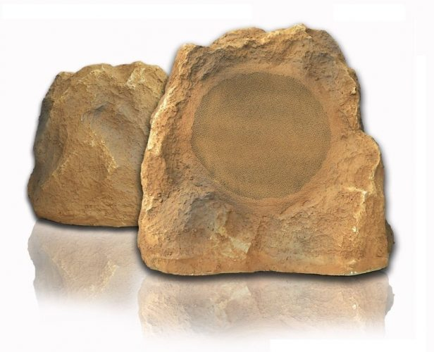 Outdoor Rock Speakers Canyon Sandstone 8.0 inch - POP RoK by Sound Appeal