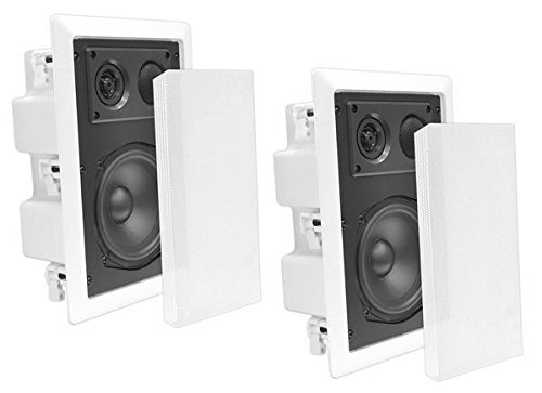 Pyle In-Wall Dual 8.0'' Enclosed Speaker Systems