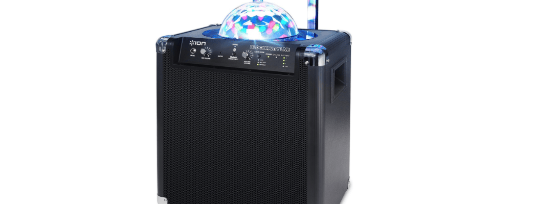 ION Audio Block Party Live Portable Party Speaker Review