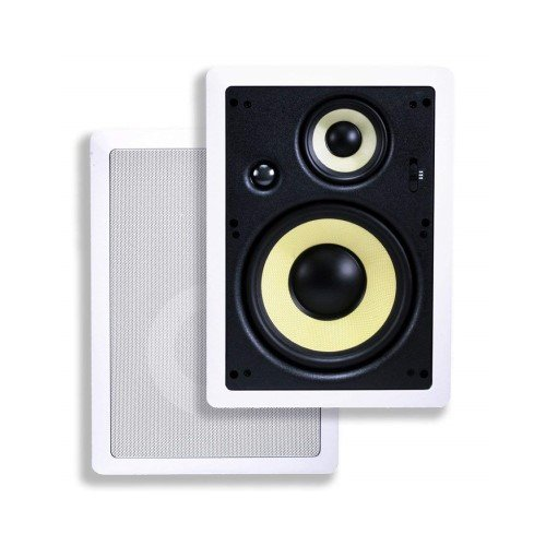 Monoprice Caliber In-Wall Speakers 8 Inch Fiber 3-Way