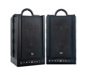 Dual Electronics LU48BTS Wireless Portable Bluetooth Speakers
