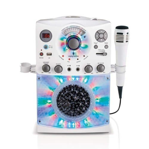 Singing Machine SML385UW Bluetooth Karaoke System