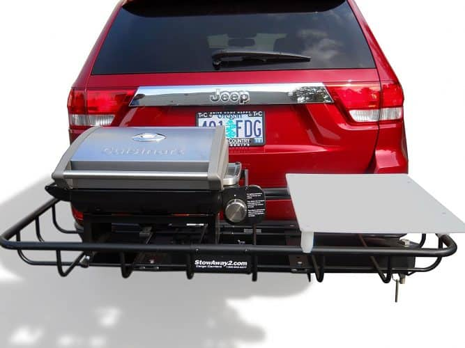 stowaway hitch grill