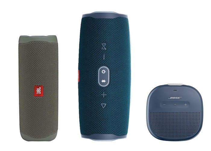 Waterproof Bluetooth Speakers Size Scale