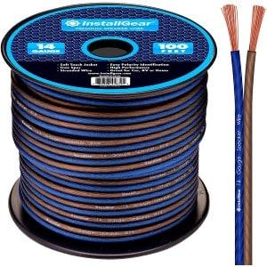 InstallGear 14 Gauge AWG 100ft Speaker Cable