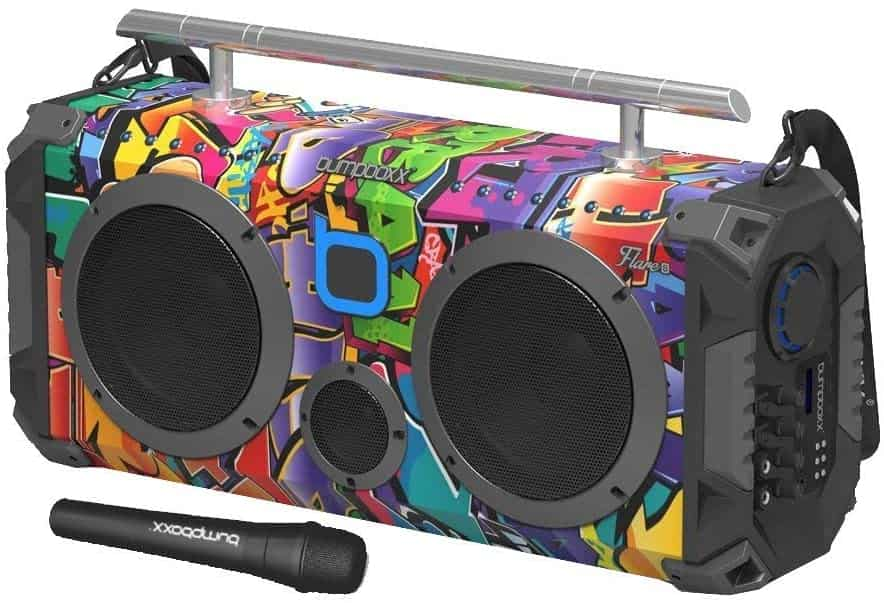 Bumpboxx Flare8 Bluetooth Boombox