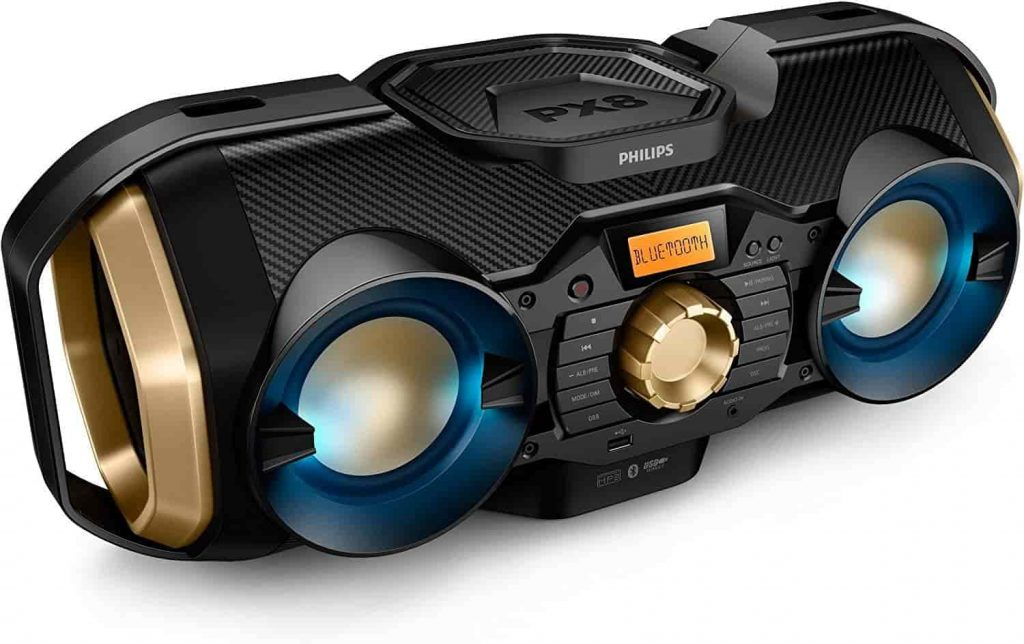PHILIPS PX840T Bluetooth Boombox
