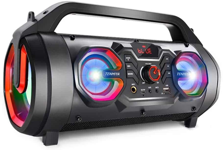 Tenmiya Portable Bluetooth Speakers